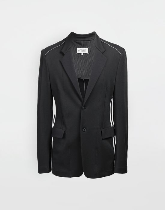 MAISON MARGIELA Exposed seam jersey jacket Blazer [*** pickupInStoreShippingNotGuaranteed_info ***] f