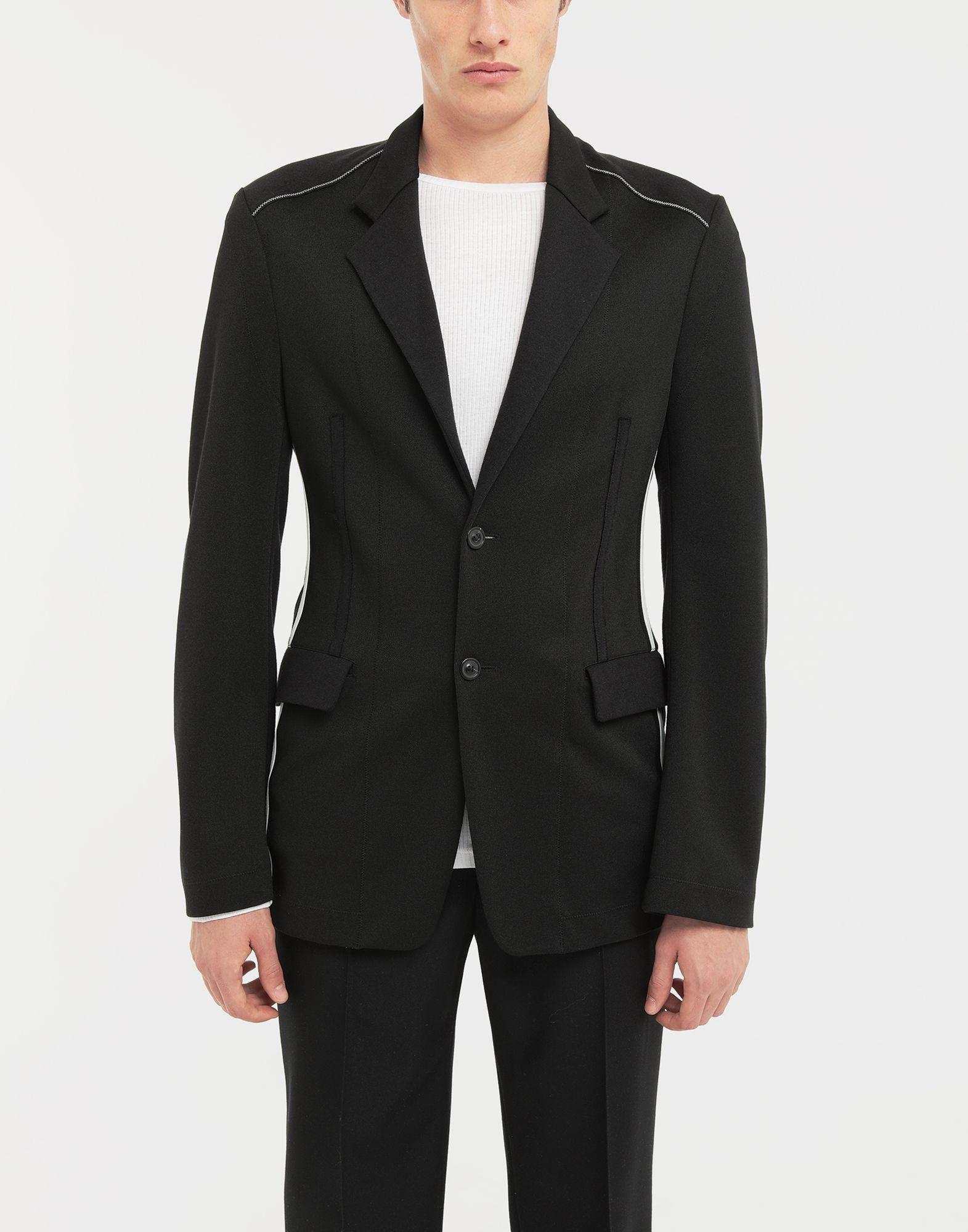 MAISON MARGIELA Exposed seam jersey jacket Blazer Man r
