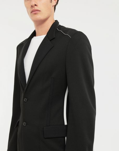 MAISON MARGIELA Exposed seam jersey jacket Blazer Man a