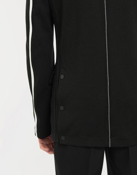 MAISON MARGIELA Exposed seam jersey jacket Blazer Man b