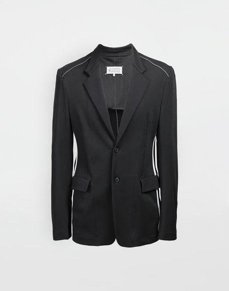 MAISON MARGIELA Exposed seam jersey jacket Blazer Man f