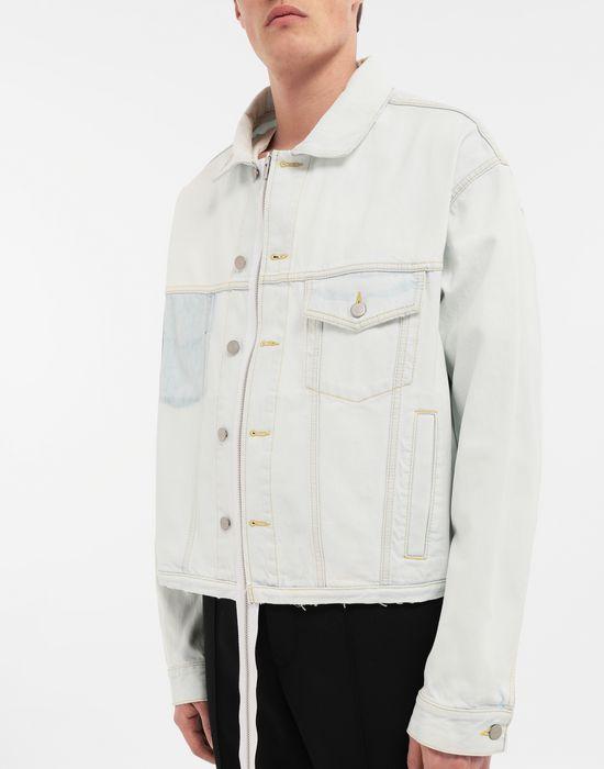 MAISON MARGIELA Zip In - Zip Out reversible denim trench coat Coat [*** pickupInStoreShippingNotGuaranteed_info ***] a