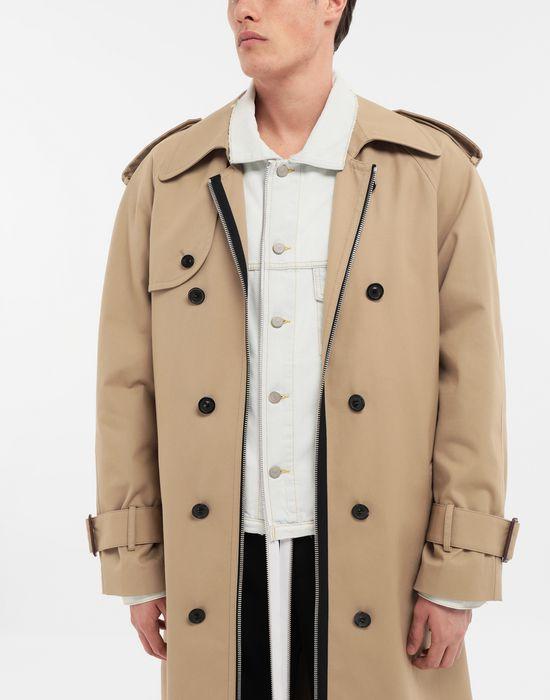 MAISON MARGIELA Zip In - Zip Out reversible denim trench coat Coat [*** pickupInStoreShippingNotGuaranteed_info ***] b