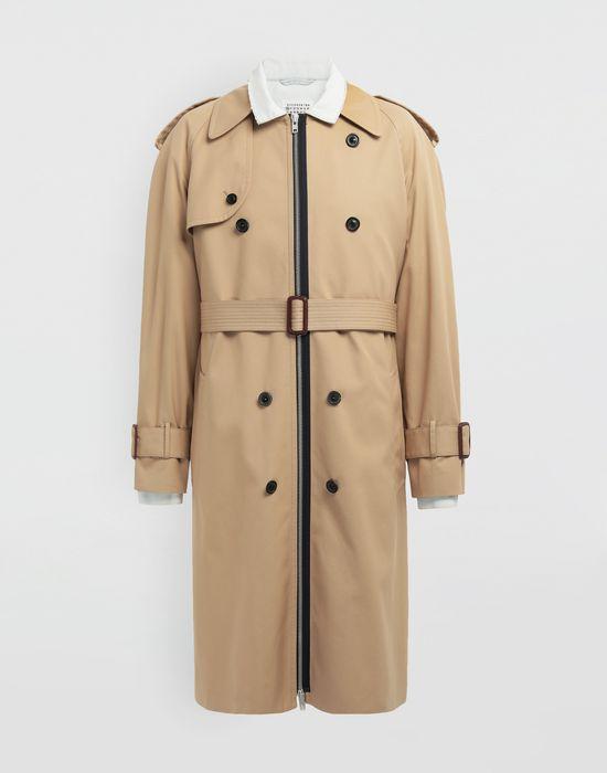 MAISON MARGIELA Zip In - Zip Out reversible denim trench coat Coat [*** pickupInStoreShippingNotGuaranteed_info ***] f