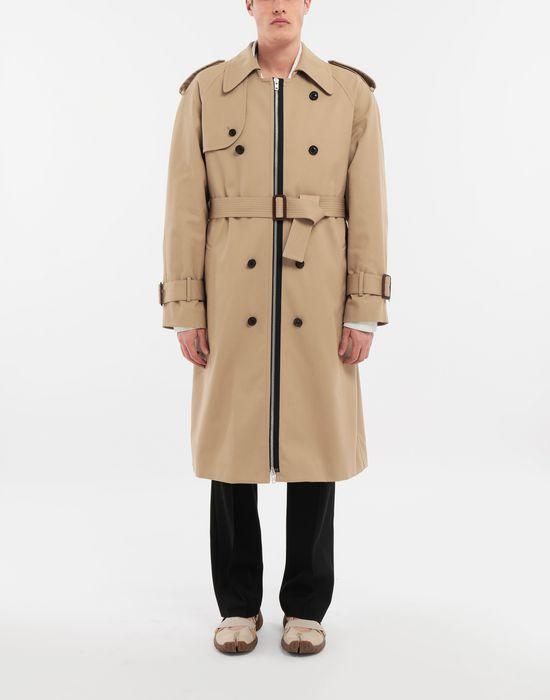 MAISON MARGIELA Zip In - Zip Out reversible denim trench coat Coat [*** pickupInStoreShippingNotGuaranteed_info ***] r