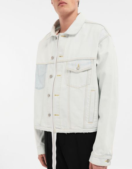 MAISON MARGIELA Zip In - Zip Out reversible denim trench coat Coat Man a