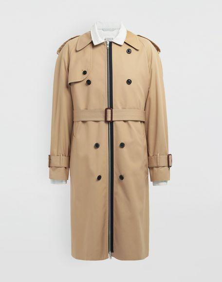 MAISON MARGIELA Zip In - Zip Out reversible denim trench coat Coat Man f
