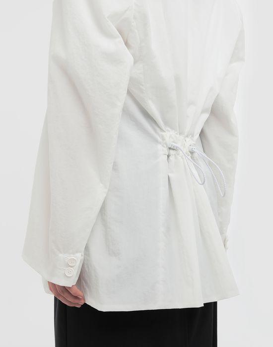 MAISON MARGIELA Ruched back wool jacket Jacket [*** pickupInStoreShipping_info ***] b