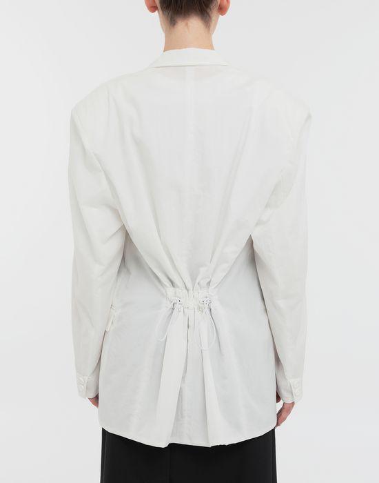 MAISON MARGIELA Ruched back wool jacket Jacket [*** pickupInStoreShipping_info ***] e
