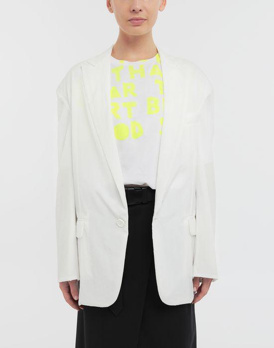 MAISON MARGIELA Ruched back wool jacket Jacket [*** pickupInStoreShipping_info ***] r