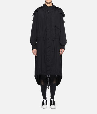 Y-3 Nylon parka Woman Y-3 Adizero Fishtail Parka r