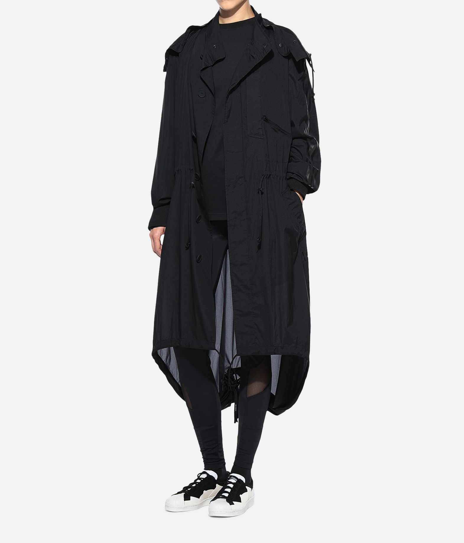 Y-3 Y-3 Adizero Fishtail Parka Nylon parka Woman a