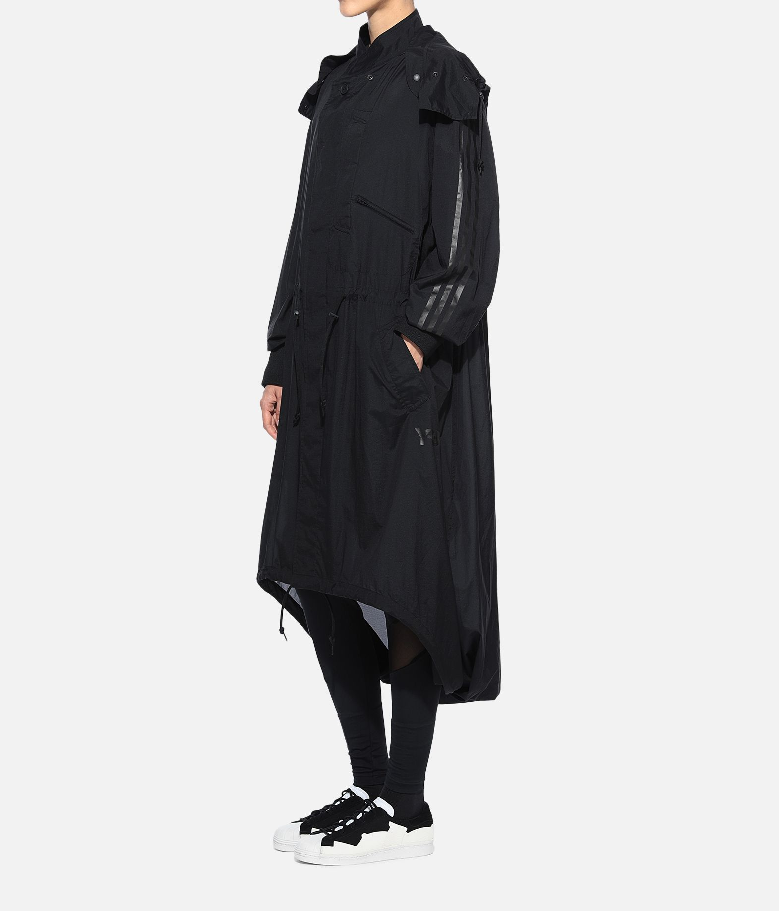 Y-3 Y-3 Adizero Fishtail Parka Nylon parka Woman e