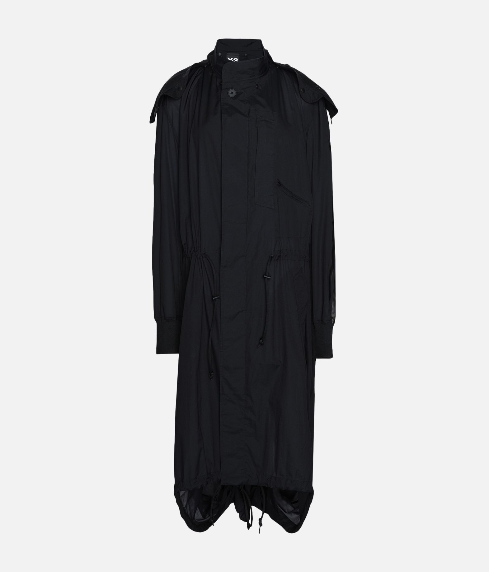 Y-3 Y-3 Adizero Fishtail Parka Nylon parka Woman f
