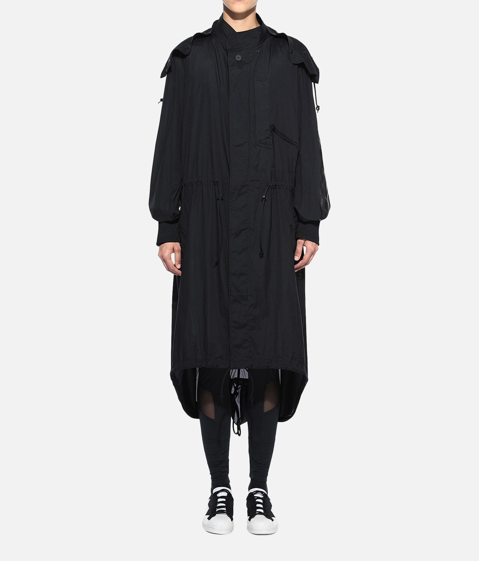 Y-3 Y-3 Adizero Fishtail Parka Nylon parka Woman r