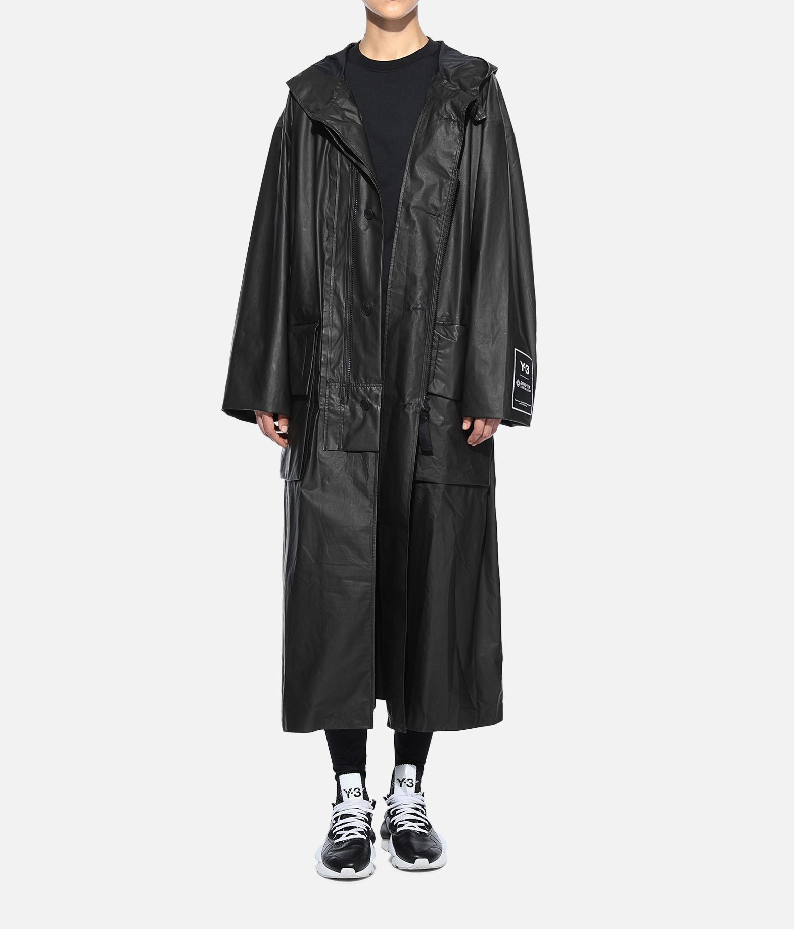 Y-3 Y-3 GORE-TEX Long Coat Full-length jacket Woman a