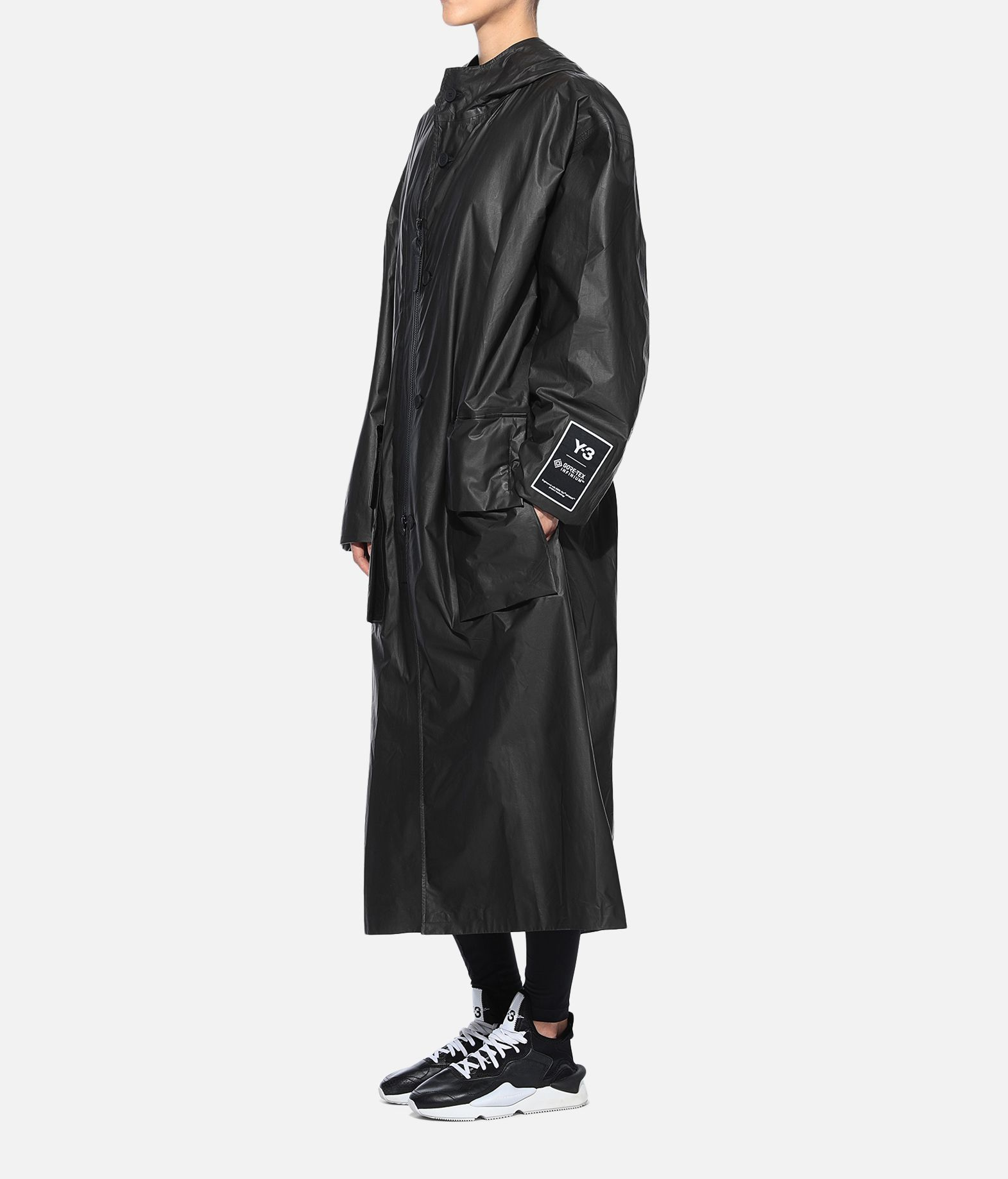 Y-3 Y-3 GORE-TEX Long Coat Full-length jacket Woman e