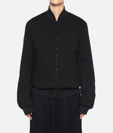 Y-3 Jacket Woman Y-3 Reversible Bomber Jacket  r