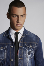 DSQUARED2 Perfection Classic Denim Jacket Denim outerwear Man