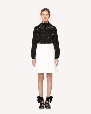 REDValentino RR3CI00HQHY 0NO Light jacket Woman f
