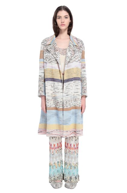 MISSONI Coat White Woman - Back