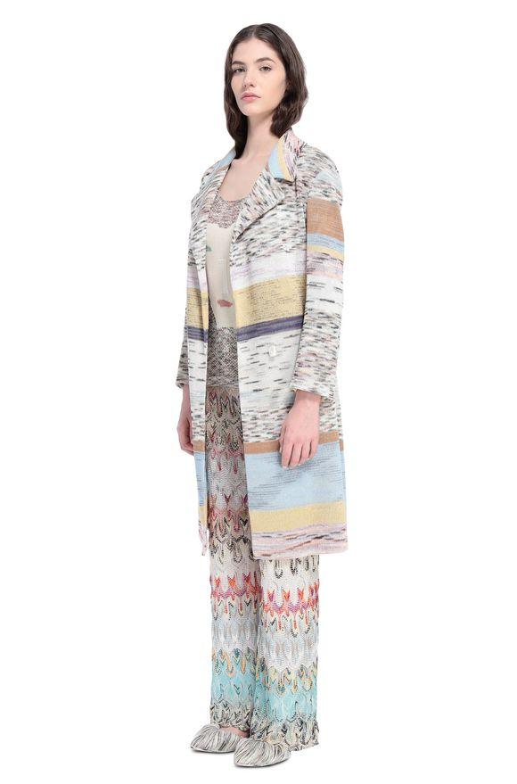 MISSONI Coat Woman, Side view