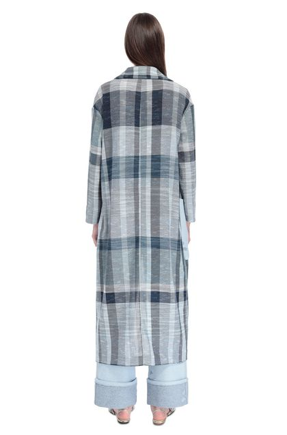 MISSONI Coat Sky blue Woman - Front
