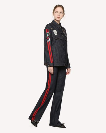REDValentino RR3DC00ABQE 518 Jacket Woman d