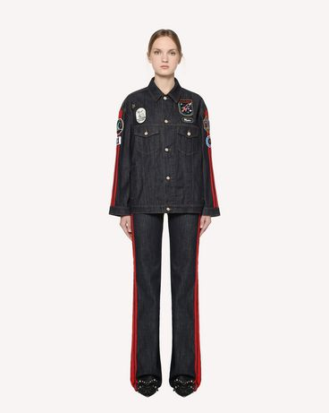 REDValentino RR3DC00ABQE 518 Jacket Woman f