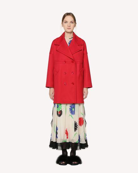 REDValentino Coat Woman RR3CAA201Y1 D05 f