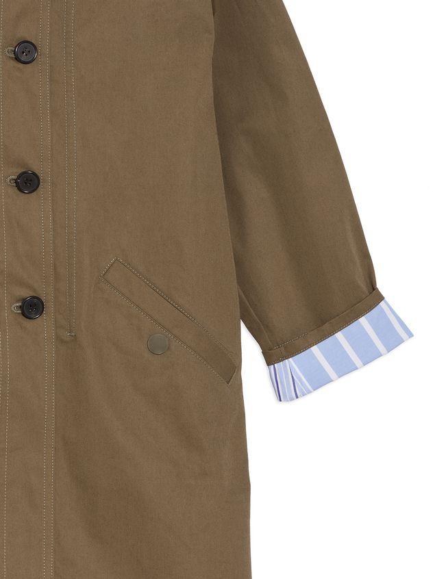 Marni Hooded parka in cotton gabardine Man - 4