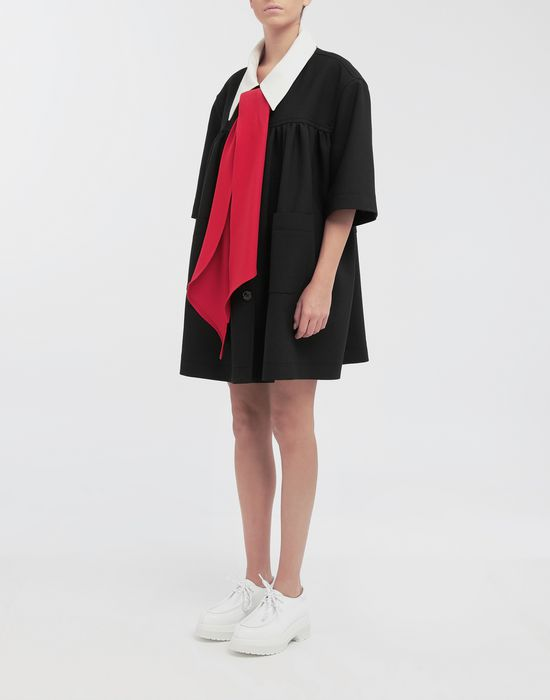 MM6 MAISON MARGIELA Oversized necktie sportsjacket Full-length jacket [*** pickupInStoreShipping_info ***] r