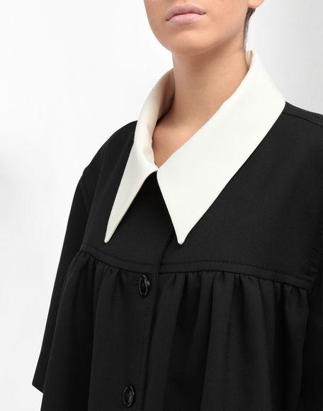 MM6 MAISON MARGIELA Oversized necktie sports jacket Full-length jacket Woman a