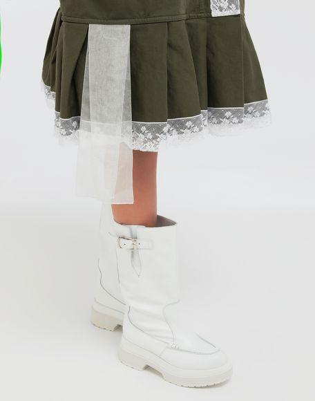 MM6 MAISON MARGIELA Oversized lace-trimmed dress Short dress Woman b
