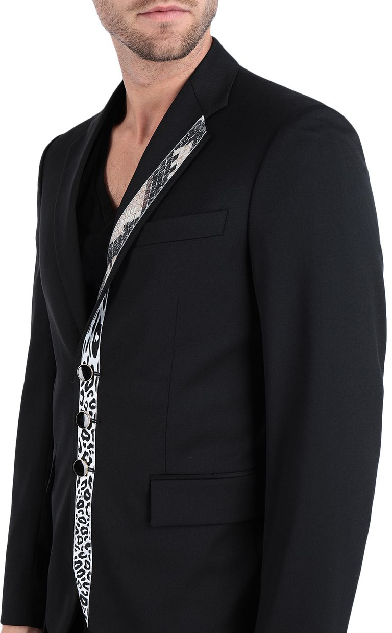 JUST CAVALLI Jacket with python-print band Blazer Man e