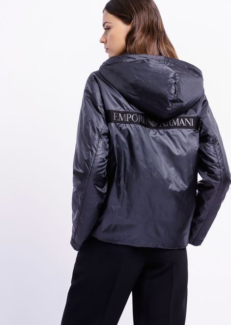 3-in-1 techno canvas coat with detachable inner jacket