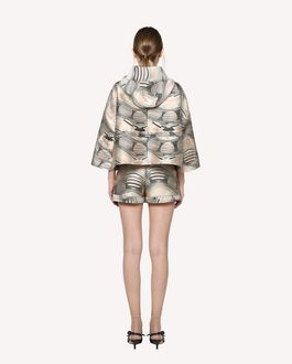 REDValentino Floating Moons brocade jacket