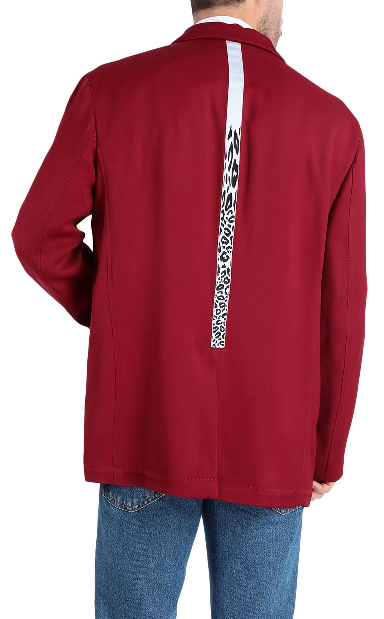 JUST CAVALLI Longline blazer with leopard band Blazer Man r