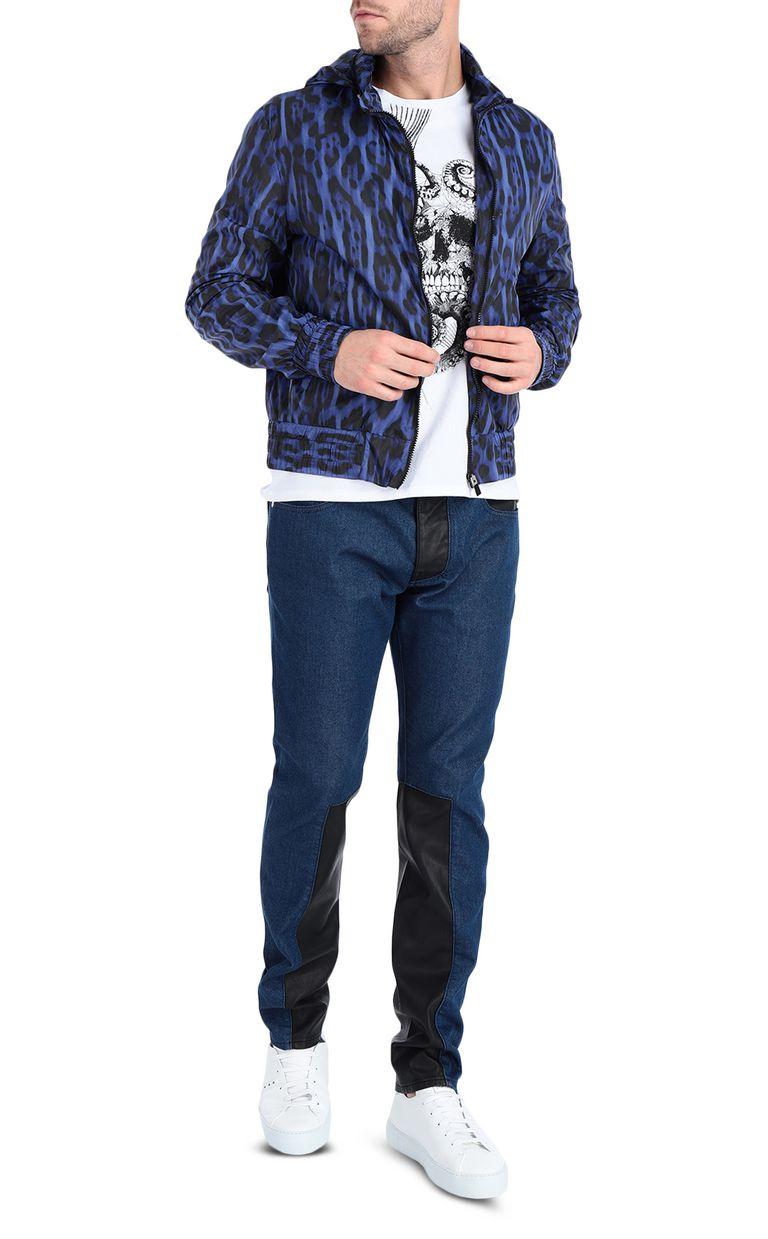 JUST CAVALLI Leopard-print jacket Jacket [*** pickupInStoreShippingNotGuaranteed_info ***] d