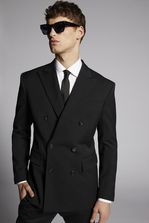 DSQUARED2 Wool Double Breasted 80's Blazer JACKET/BLAZER Для Мужчин