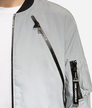 KARL LAGERFELD Reflective Bomber Jacket 9_f