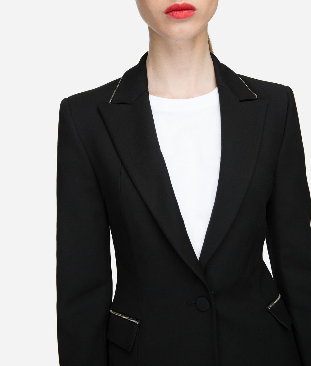 KARL LAGERFELD Fitted Blazer Jacket Woman d