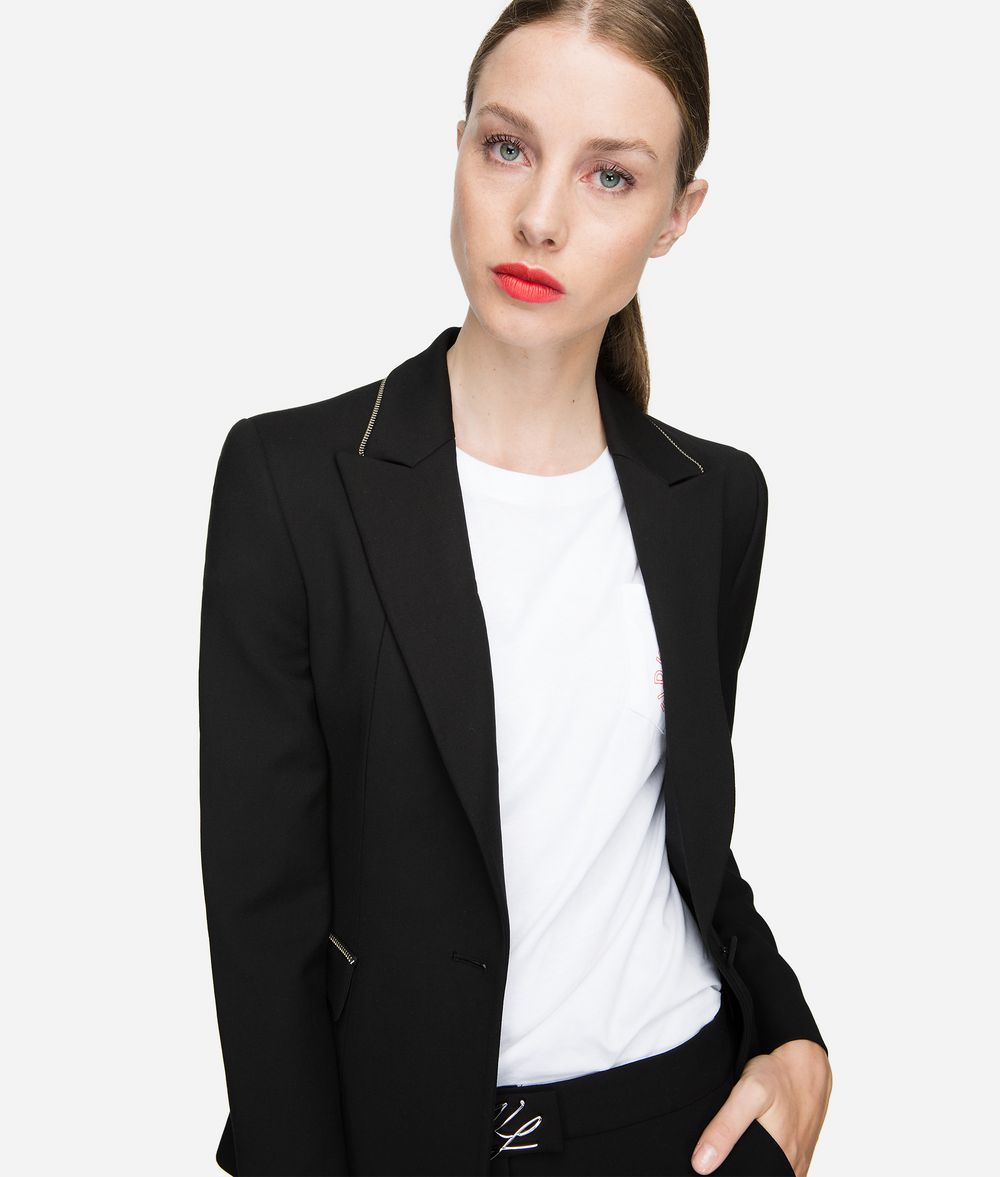 KARL LAGERFELD Fitted Blazer Jacket Woman f