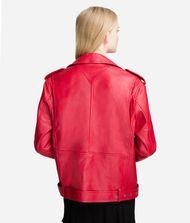 KARL LAGERFELD Leather Biker Jacket 9_f