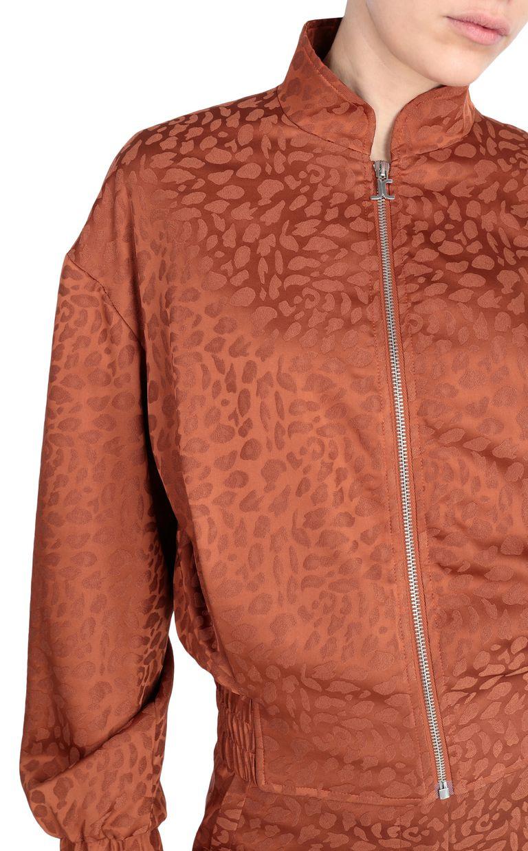 JUST CAVALLI Leopard jacquard bomber jacket Jacket [*** pickupInStoreShipping_info ***] e