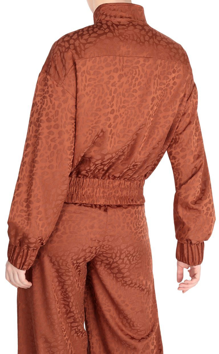 JUST CAVALLI Leopard jacquard bomber jacket Jacket [*** pickupInStoreShipping_info ***] r