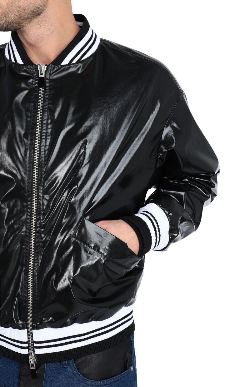 JUST CAVALLI Animal-print bomber jacket Jacket Man e