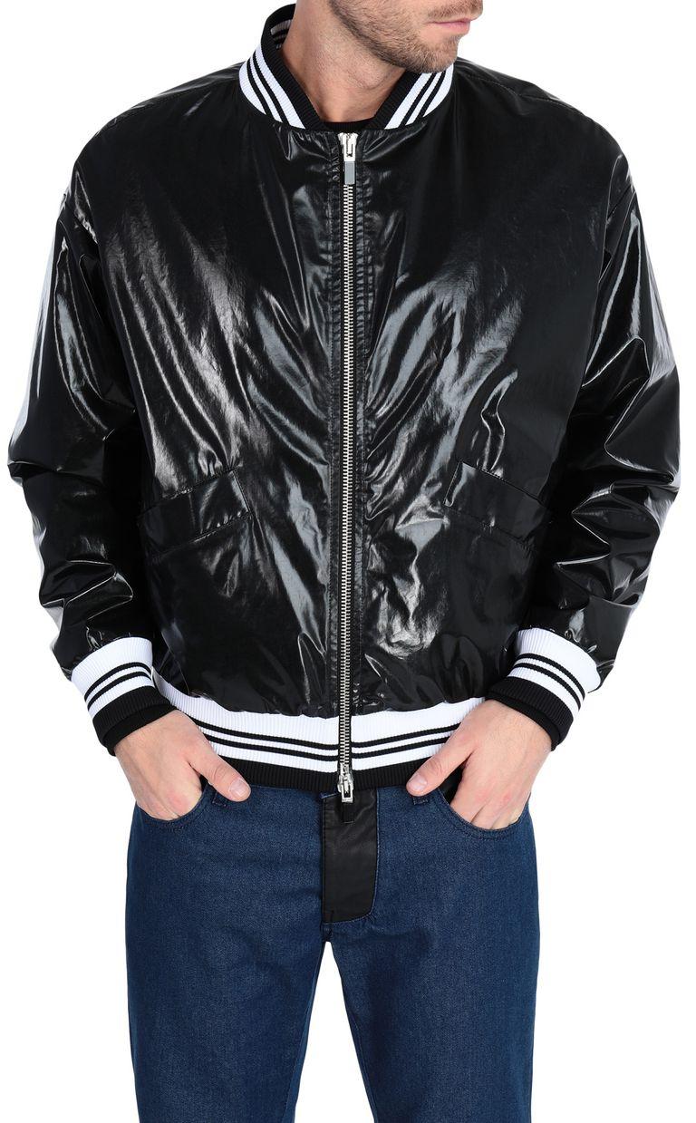 JUST CAVALLI Animal-print bomber jacket Jacket Man f