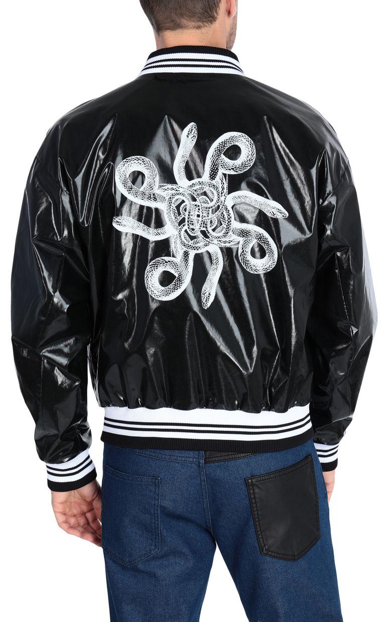 JUST CAVALLI Animal-print bomber jacket Jacket Man r