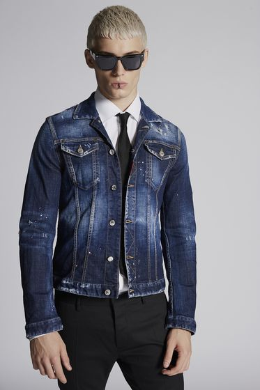 DSQUARED2 Denim outerwear [*** pickupInStoreShippingNotGuaranteed_info ***] S74AM0884S30342470 b